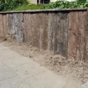 sloophout hek