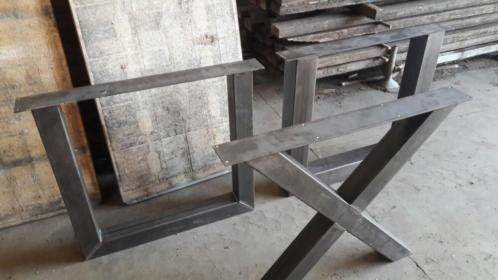Tafelpoot metaal: industriële metalen tafelpoot marga per paar u