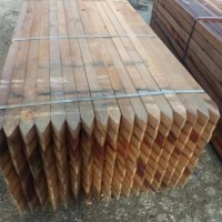 azobe palen 6x6x275cm